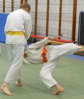 Aikido at Reading University                                     London Road dojo 03
